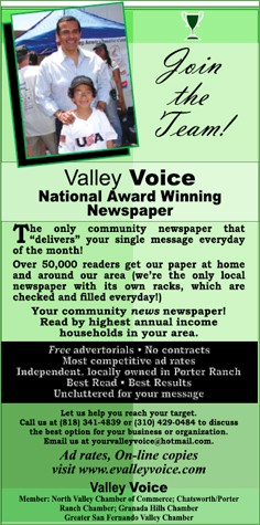 Valley Voice National Award Winning Newspaper